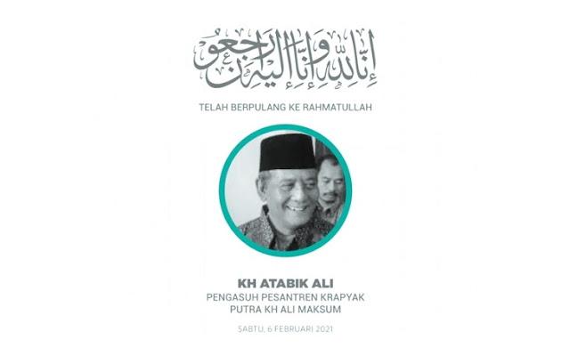 Innalillahi, Pengasuh Pesantren Krapyak KH Atabik Ali Meninggal Dunia