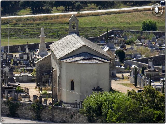 GRIGNAN (26) - Chapelle romane Saint-Vincent