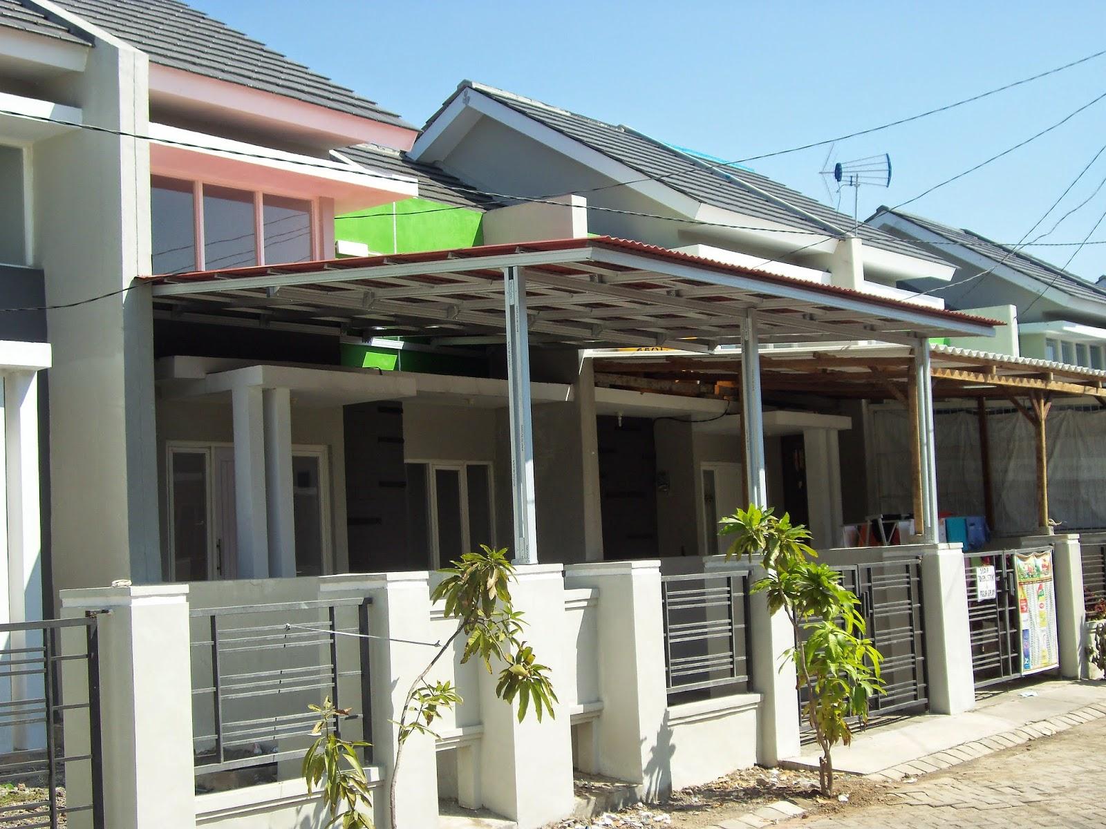 Kanopi Baja Ringan Untuk Rumah Minimalis Spesialis Bajaringan Surabaya