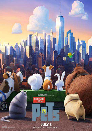 The Secret Life of Pets 2016 BRRip 720p Dual Audio In Hindi English