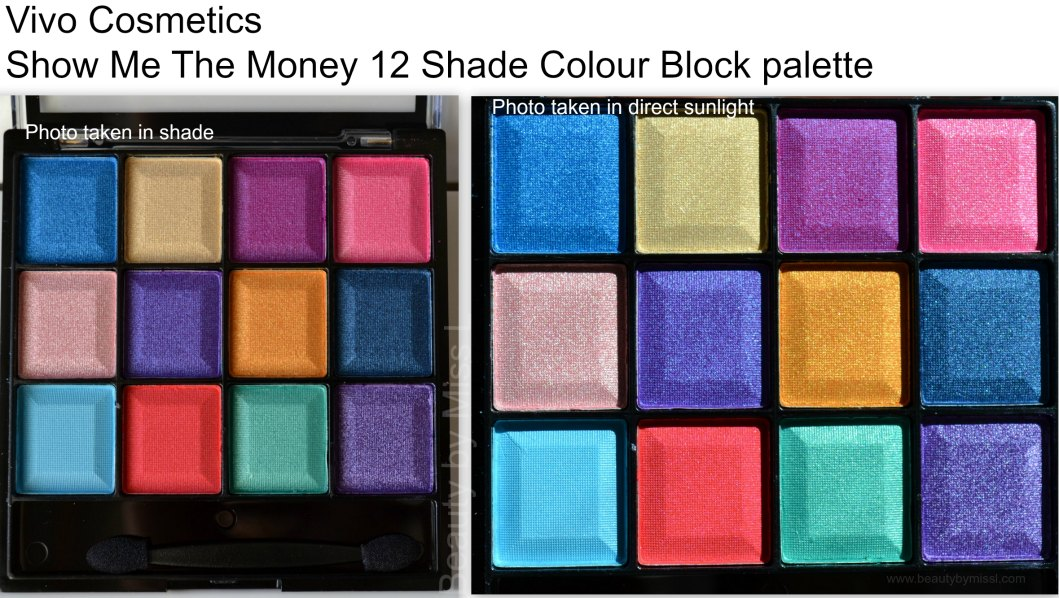 Vivo Cosmetics Show Me The Money eyeshadow palette