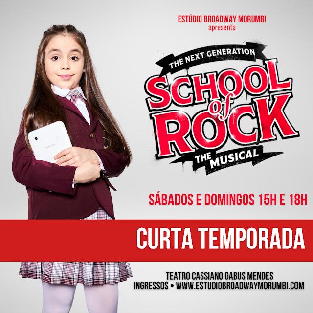 "Lívia Maria dará vida a Summer em ""School of Rock"""