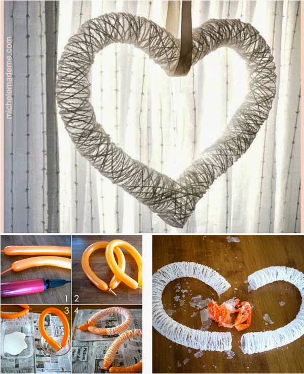 Top Easy Heart-Shaped DIY Crafts For Valentines Day