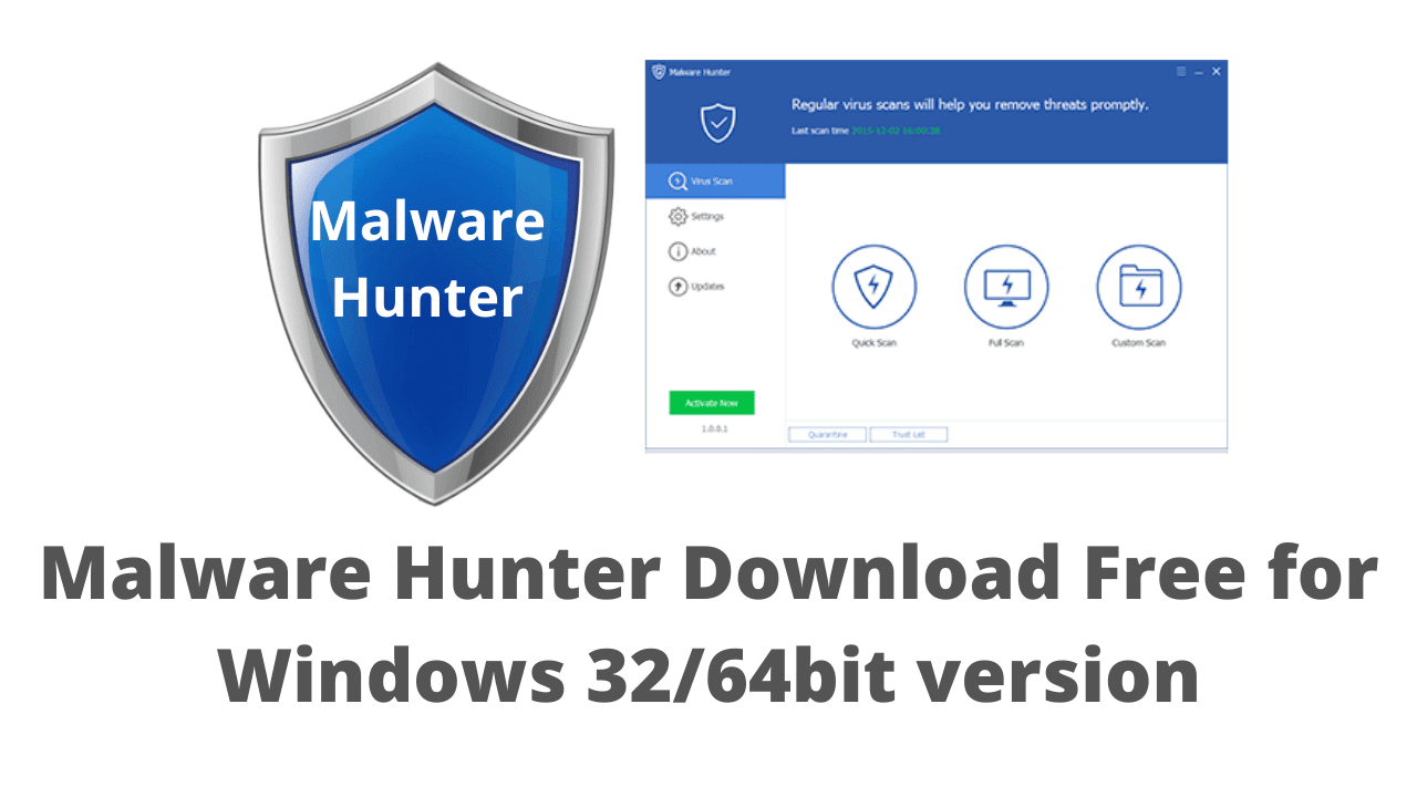 Malware Hunter Download Free for Windows 32/64bit version