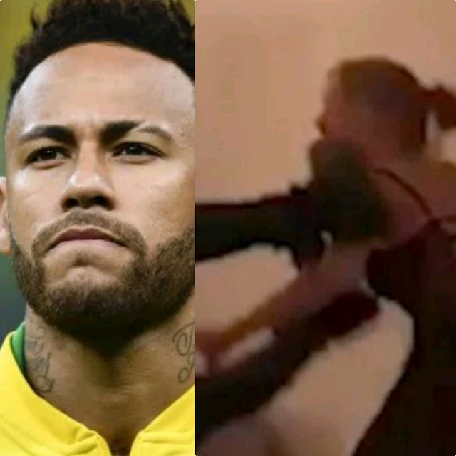 Watch Hotel Viral Video Shows Neymar Assaulted By Rape Accuser