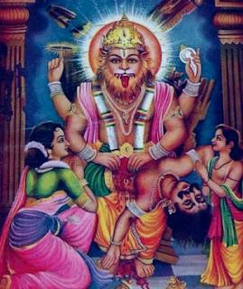 Narasimha Panchamrutha Stotram