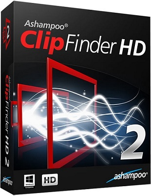 Ashampoo ClipFinder HD 2.50 poster box cover