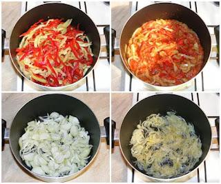 retete mancare din legume si orez de post, preparare tocana de legume cu orez pentru iarna, retete de post, mancare de post, retete culinare, mancaruri de post, preparare conserve pentru iarna,