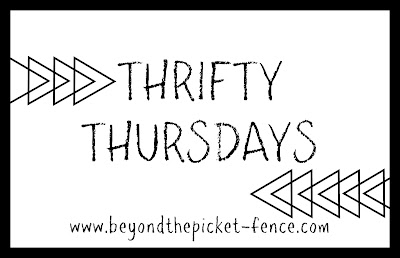 Thrift Store Makeovers and Upcycles at Beyond the Picket Fence