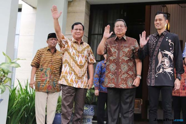 Tumbangkan Jokowi, SBY akan Jadi Guru Kungfu Prabowo