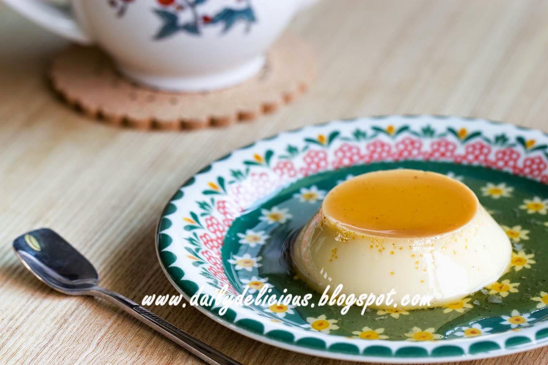 how to make cream caramel custard