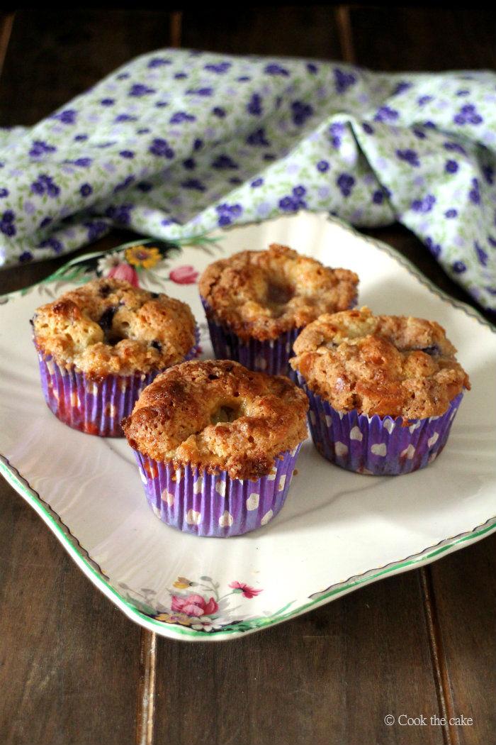 muffins-de-arandanos, blueberry-muffins