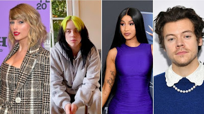 It's Grammy Week! Newly Unleashed Performers Include Dua Lipa, Taylor Swift, Billie Eilish, Harry Styles, Cardi B & Mucho More At This Sunday's Show!