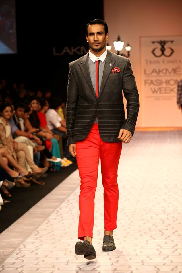 Troy Costa S The Great Gatsby Collection Lakme Fashion