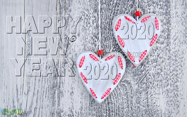 2020 Love Background HD 1080p Happy New Year