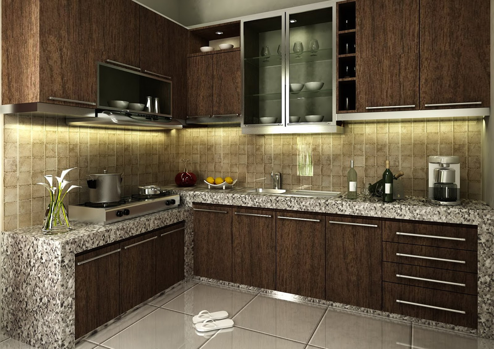 Design Kitchen Set Minimalis Modern Kitchen Set Minimalis Modern Gardening Tips