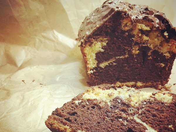Christmas treats #4: Chocolate orange marble cake