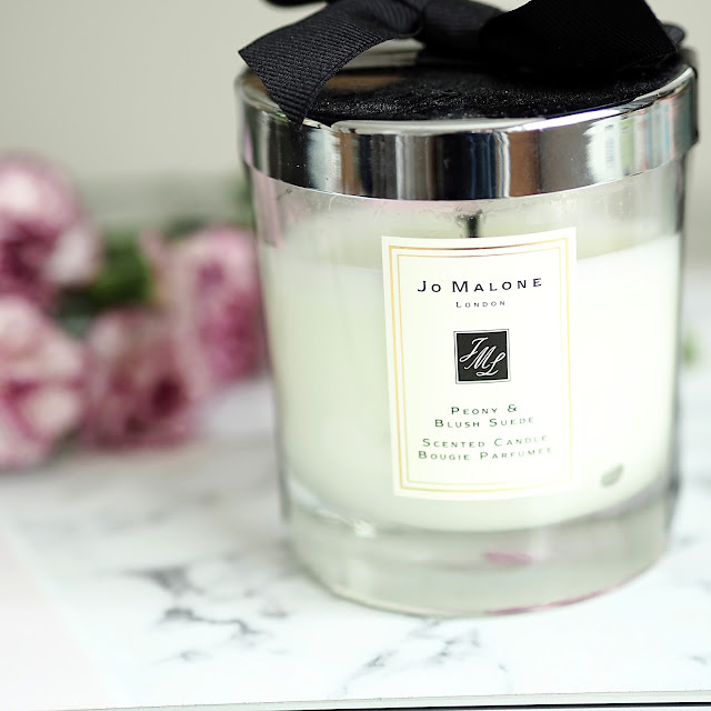 Jo Malone Peony and blush suede candle
