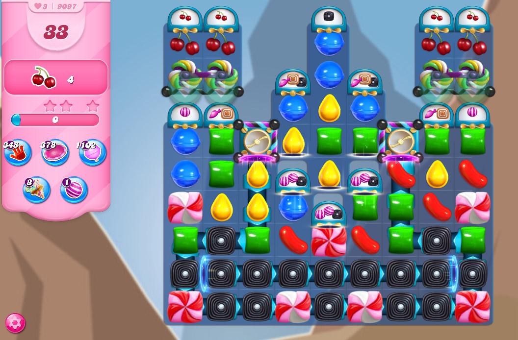 Candy Crush Saga level 9097