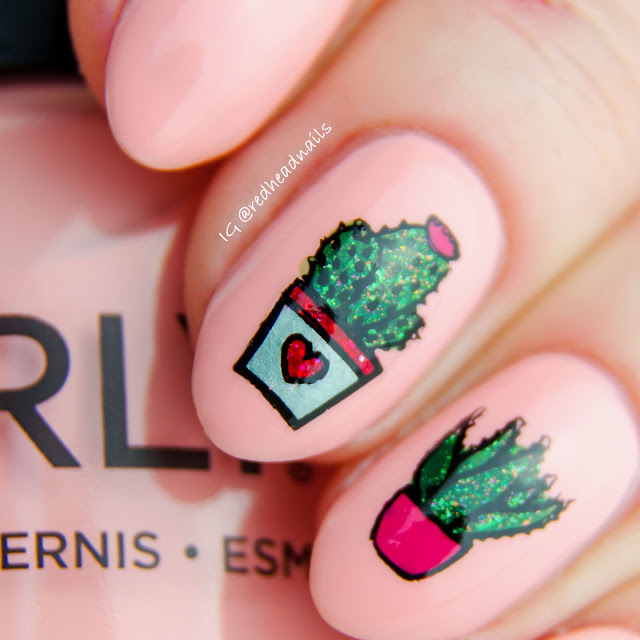 """Orly """"Pink Noise"""" swatch"""