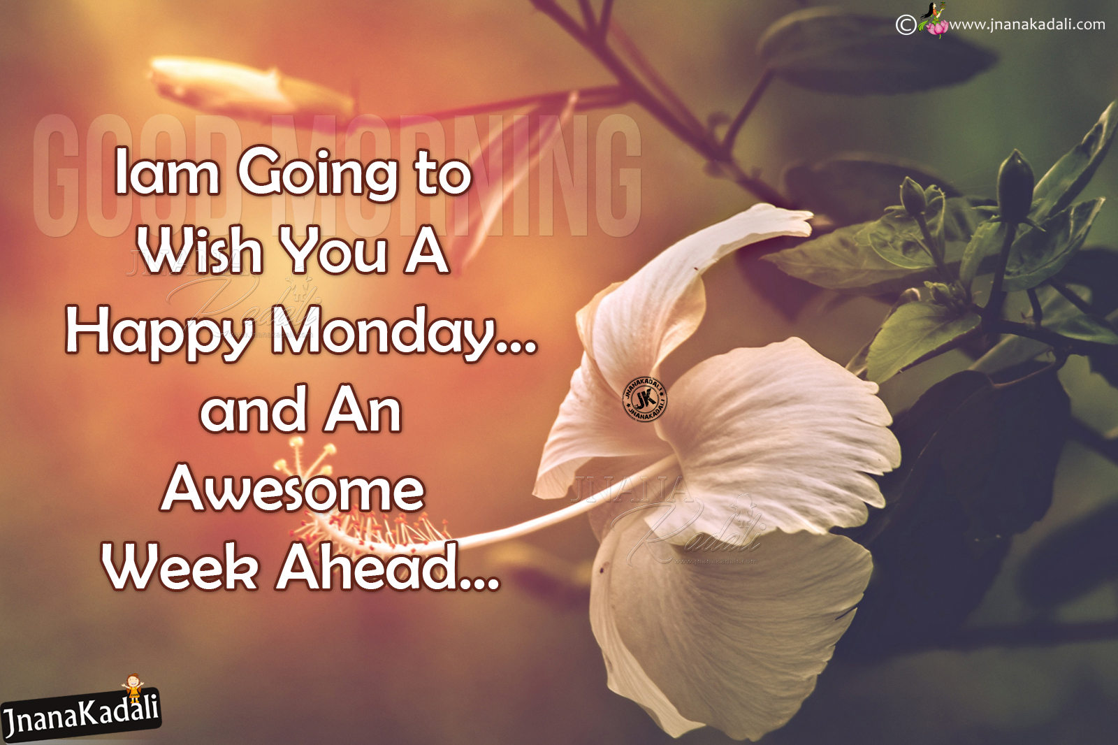 Happy Monday Quotes Greetings In English Wishing You A Happy Monday