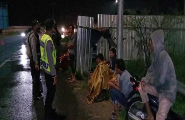 Kapolsek Tebing Tinggi Imbau Aturan Prokes Dalam Patroli di Bulan Ramadhan