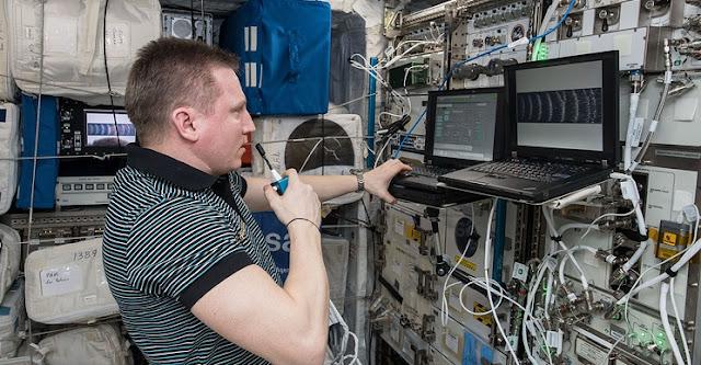 Russian cosmonaut Sergey Prokopyev. Credit: NASA