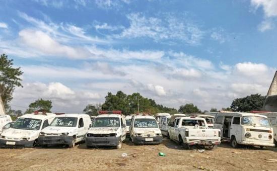Prefeitura realiza leilão de veículos e bens inservíveis no próximo dia 25
