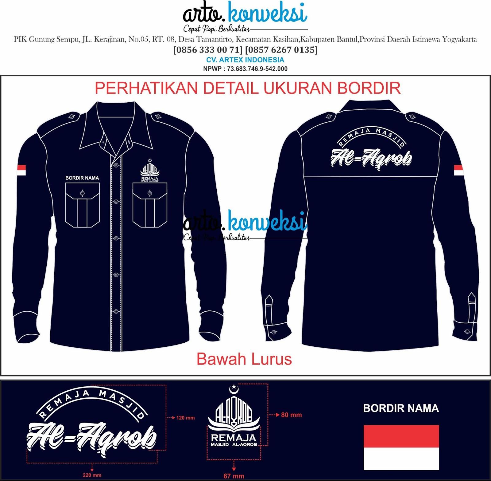 50+ Desain Baju PDH Organisasi ~ 0856-333-0071 | Jasa ...