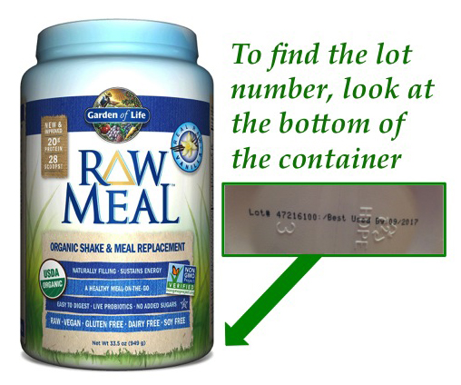 Foods For Long Life Garden Of Life Identifies Likely Source Of Salmonella Contamination Of Raw