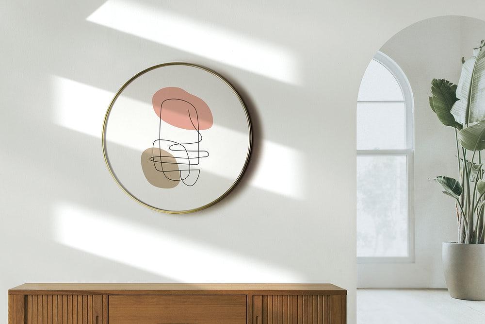 inspiracje dekoracja komody w sypialni