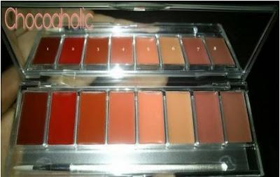 Wardah lip palette