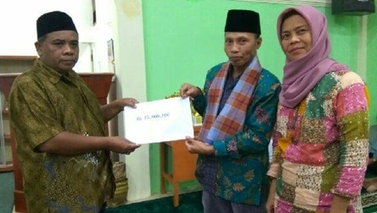 Masrul Rajo Intan Kunjungi Masjid Al Quwait