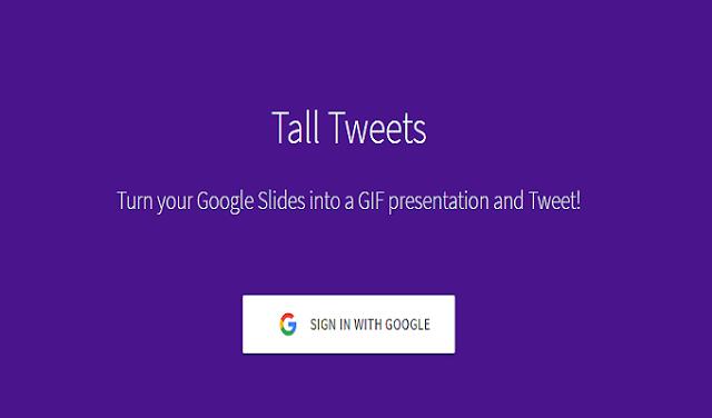 أداة تحويل العروض التقديمية من جوجل إلى صور متحركة GIF