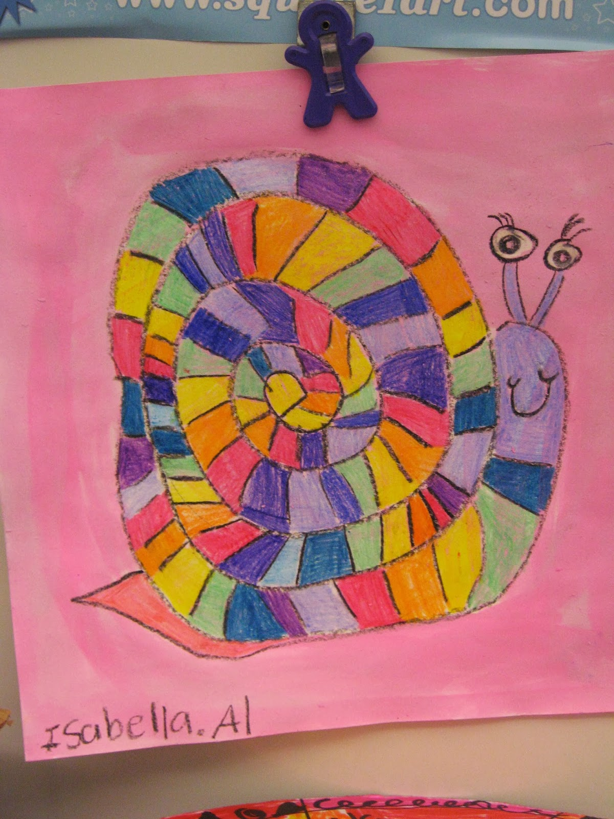 Jamestown Elementary Art Blog 1st Grade Rainbow Order