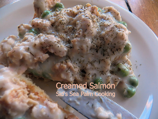 Creamed Salmon