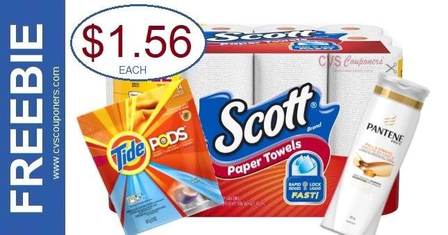 CVS Deal on Scott Paper Towels 3-28-4-3