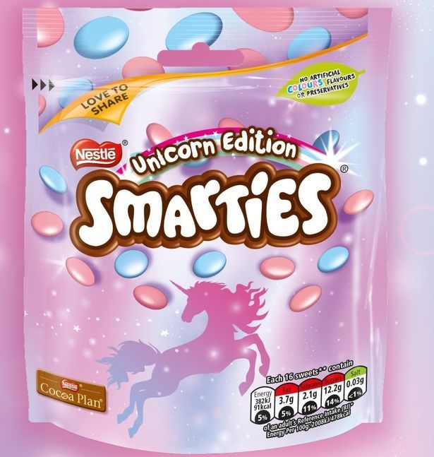 Nestle Smarties Unicorn Edition!