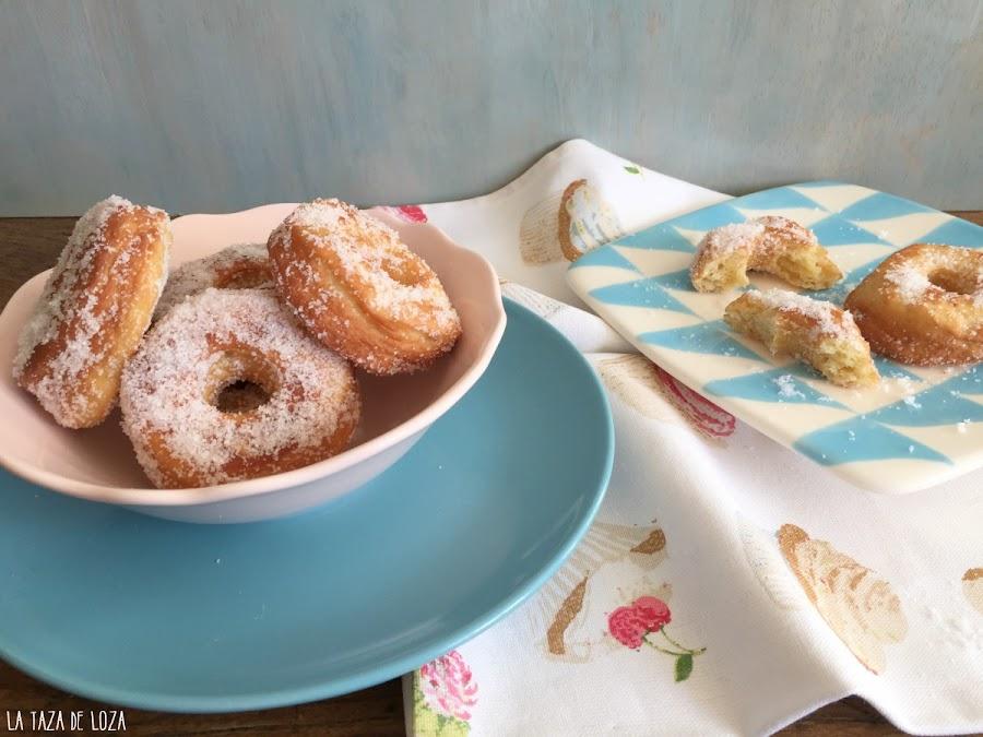 rosquillas-con-azúcar