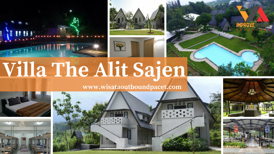 villa the alit sajen wisata outbound pacet improve vision