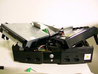 Original Microsoft Xbox Hardware taken apart