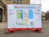 Maker Faire Hannover 2019 Hallenplan