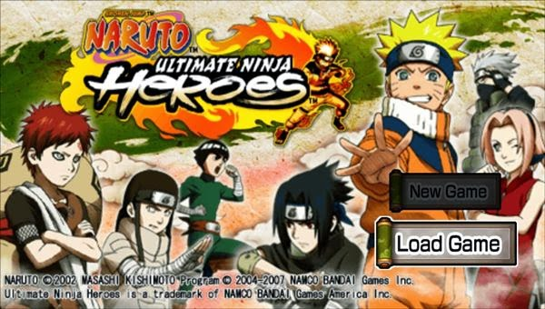 Naruto Ultimate Ninja Heroes PSP ISO - Download Roms Iso's - Downarea51