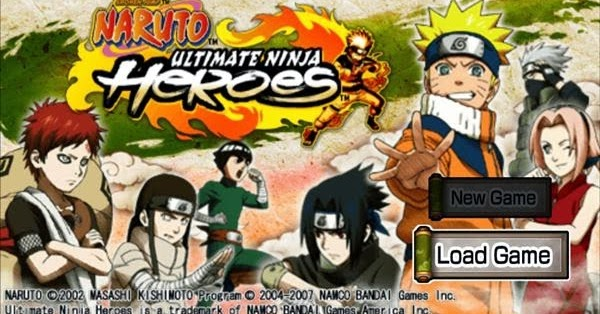 Naruto Ultimate Ninja Heroes PSP ISO ~ Galaxy V SM-G313HZ & Galaxy Y GT-S5360