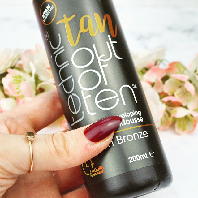 Technic Cosmetics Tan Out Of Ten NEW Fake Tanning Mousse Review