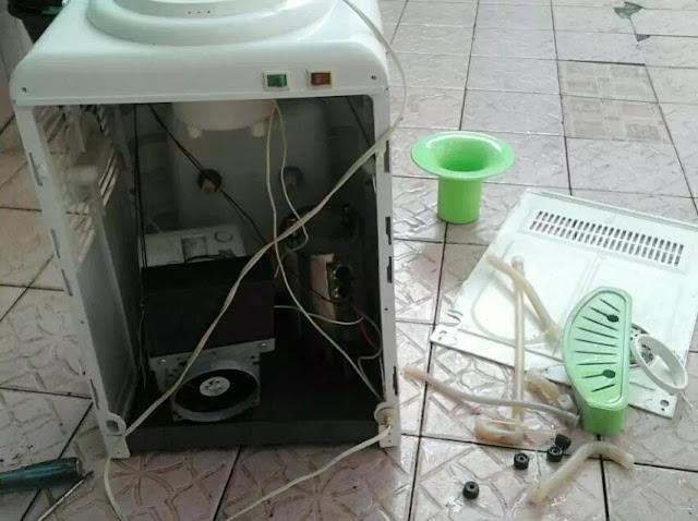 Cara Mengatasi Dispenser Bocor Air Meluap