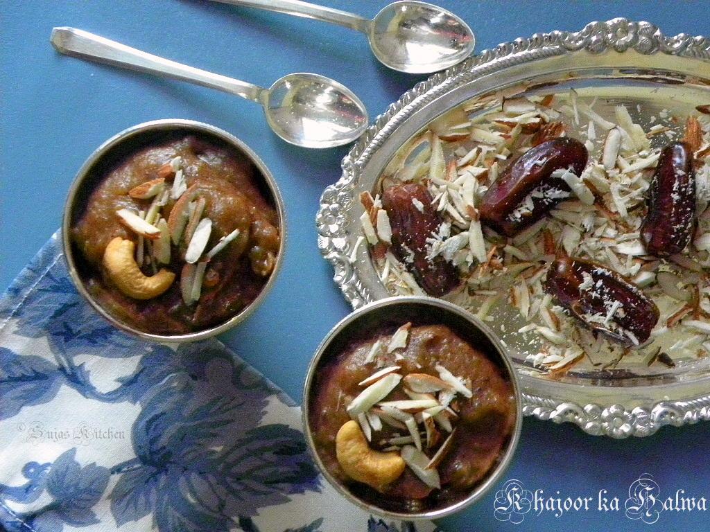 Sujas Kitchen: Khajoor ka Halwa (Indian Dates Pudding)