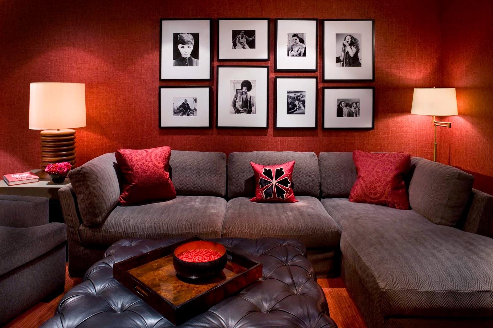 Ide Desain Rumah Minimalis Ruang Tamu Warna