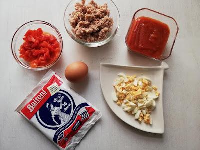 ingredientes para empanadillas de atún
