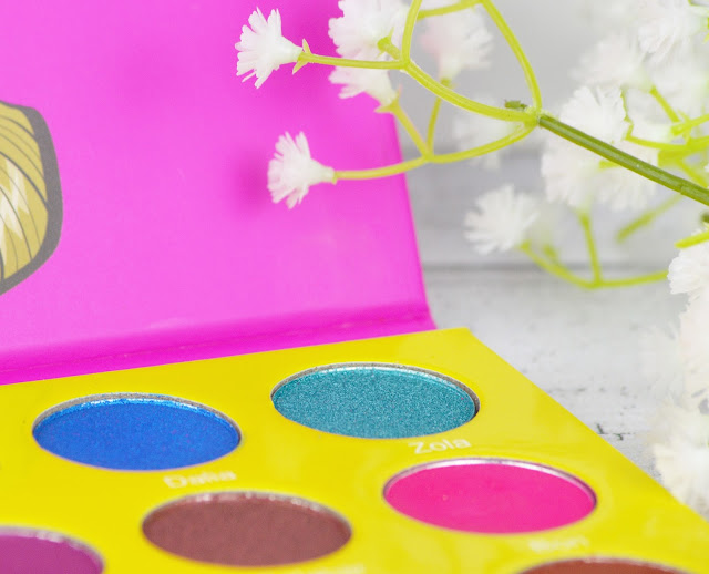 Juvia's Place Masquerade Mini Palette Review with Swatches - Lovelaughslipstick Blog
